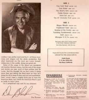 LP Lorne Greene American West 1966 RCA Stereo in Shrink VG