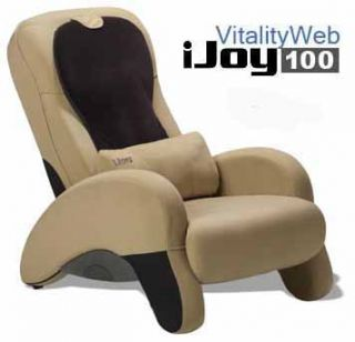 iJoy 100 Robotic Human Touch Massage Chair Cool Camel