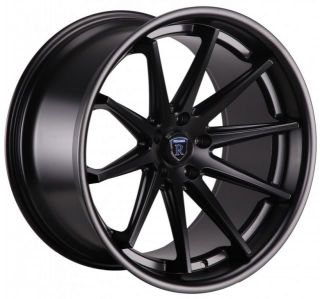 20 Rohana RC10 Wheels Concave Matte Black Staggered Infiniti G35 G37