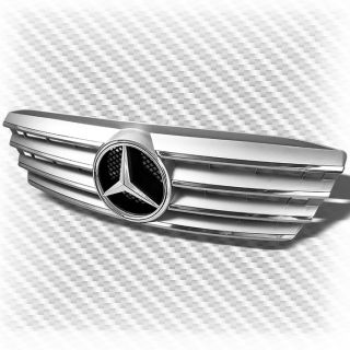 1994 2000 Mercedes Benz W202 C Class Grille Emblem Chrome Replacement