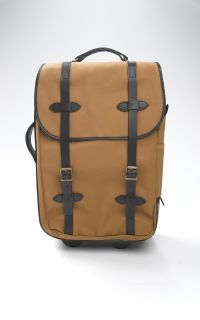 Filson Bags Wheeled Carry on Bag Tan