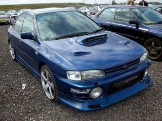 Subaru Impreza WRX / STI 93 96   JDL front spoiler