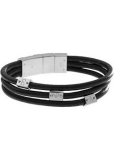 Emporio Armani Emporio Armani Herren Armband Leder EGS1496040