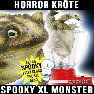 Riesen Kröte Halloween Deko Schocker Latex Monster Super fies und