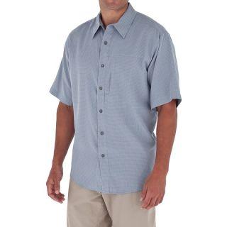 Royal Robbins Pecos Plaid Shirt   Short Sleeve (For Men)   SANTA FE CLAY (L )