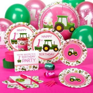 John Deere 2nd Birthday Standard Party Pack for 16