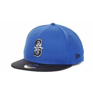 Seattle Mariners New Era MLB 2T Custom 59FIFTY Cap