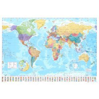 Art   World Map Poster
