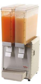 Grindmaster   Cecilware Twin Premix Cold Beverage Dispenser, (2) 2.4 Gallon, Plastic, 120 V