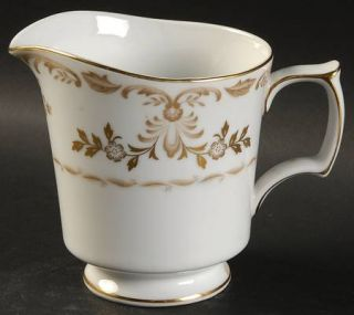 Harmony House China Classique Gold Creamer, Fine China Dinnerware   Gold Trim/Co