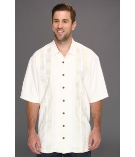 Tommy Bahama Big & Tall Big Tall Four Amigos Camp Shirt Mens Short Sleeve Button Up (White)