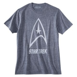 Star Trek Delta Shield Mens Graphic Tee   Blue XXL