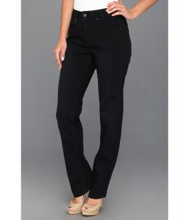 Jag Jeans Andie Mid Rise Straight in Black Sand Womens Jeans (Black)