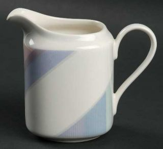 Mikasa Par Four Creamer, Fine China Dinnerware   Natural Beauty,Multicolor Trian