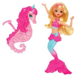 Barbie The Pearl Princess Mermaid Doll with Seahorse