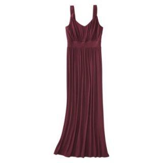 Merona Petites Sleeveless Maxi Dress   Berry XLP