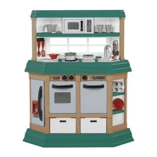 American Plastic Toys Cookin Kitchen Multicolor   11940