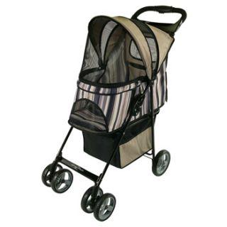 Cruiser Pet Stroller in Tan, 36 L X 18 W X 40 H