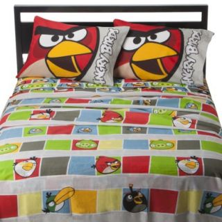 Angry Birds Sheet Set   Twin