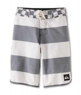 Quiksilver Kids Brigg Scallop Boardshort Boys Swimwear (White)