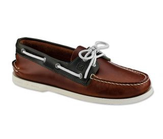 Sperry A/O Cyclone Boat Shoes / Sperry A/O Cyclone Boat Shoes, Dark Tan, 8