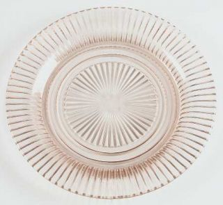 Anchor Hocking Queen Mary Pink Dinner Plate   Pink, Depression Glass