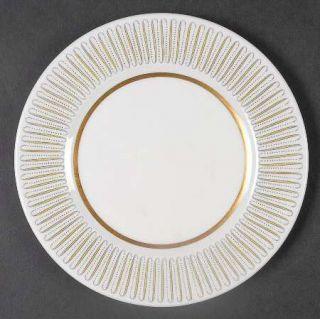 Royal Albert Capri Bread & Butter Plate, Fine China Dinnerware   Yellow Line/Bro