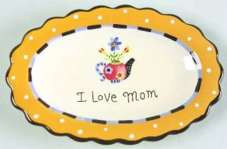 Mothers Day 6 Trinket Tray, Fine China Dinnerware   Holiday Collection,Various