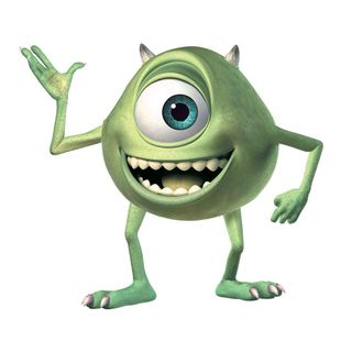 Monsters Inc Giant Mike Wazowski Peel And Stick Wall Decals