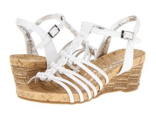 Kenneth Cole Reaction Kids Swirl Up Girls Shoes (White)