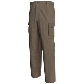 White Sierra Rocky Ridge Pants   UPF 30 (For Men)   SAGE BRUSH (XL )
