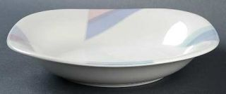 Mikasa Par Four Coupe Soup Bowl, Fine China Dinnerware   Natural Beauty,Multicol