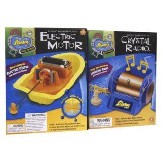 Poof Slinky Crystal Radio/Electric Motor Combo