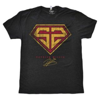 Patrick Willis Superman Womens T Shirt L