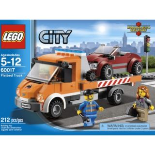 LEGO City Flatbed Truck 60017