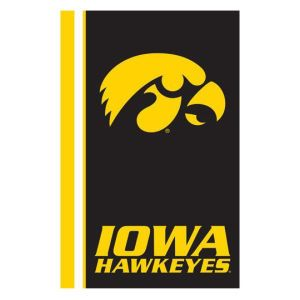 Iowa Hawkeyes Logo Chair Ultrasoft Blanket