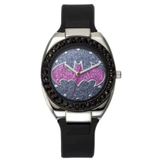 Batgirl Analog Wristwatch   Purple