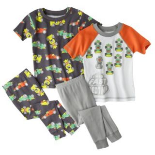Just One You by Carters Infant Toddler Boys 4 Piece Short Sleeve Race Car