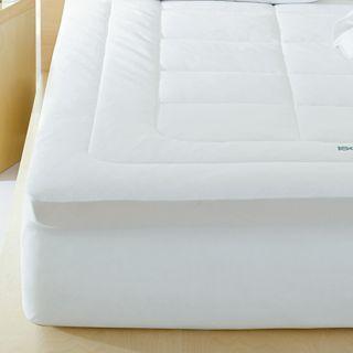 ISOTONIC Iso Cool 3 Memory Foam Mattress Topper, White