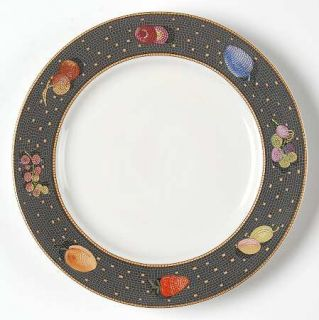 Sasaki China Ravenna Charcoal Bread & Butter Plate, Fine China Dinnerware   Frui