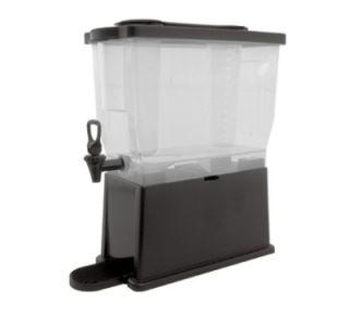Service Ideas 3 Gallon Rectangular Beverage Dispenser w/ Infuser & Ice Tubes