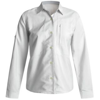 Royal Robbins Extreme Expedition Shirt   CoolMax(R)  Long Sleeve (For Women)   WHITE (2XL )