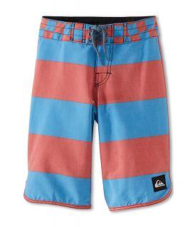 Quiksilver Kids Brigg Scallop Boardshort Boys Swimwear (Multi)