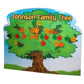 Personalized Family Tree Standee