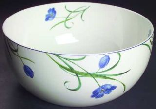 Mikasa Garden Poetry 9 Round Vegetable Bowl, Fine China Dinnerware   Casual Cla