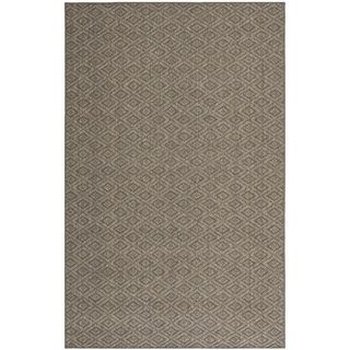 Diamonds Natural Sisal Wool Rug (8 X 11)