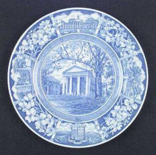 Wedgwood Washington & Lee University Blue Dinner Plate, Fine China Dinnerware