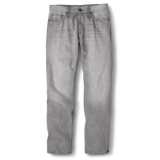 Mossimo Supply Co. Mens Slim Straight Fit Jeans   Gray 36X32