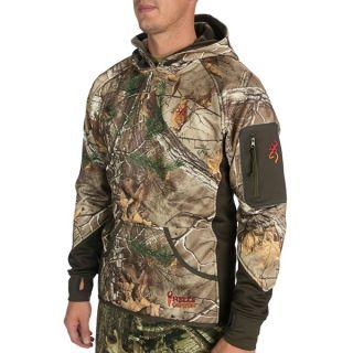Browning Hells Canyon Sweatshirt   Fleece (For Big Men)   MOSSY OAK INFINITY (2XL )