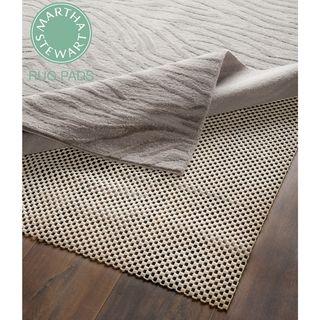 Martha Stewart Non slip Hard Floor Rubber Rug Pad (3 X 5) (set Of 2)